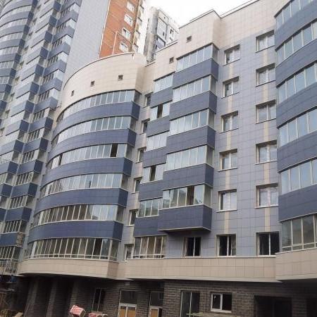 Жилой комплекс Небо Москвы, ход строительства с Московском районе