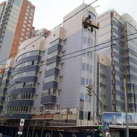 ЖК Небо Москвы,строительная готовность